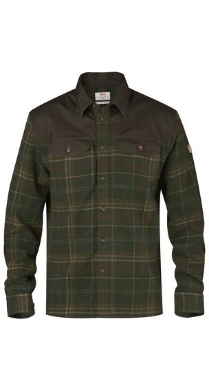 Fjällräven Granit overhemd en blouse lange mouwen Heren bruin